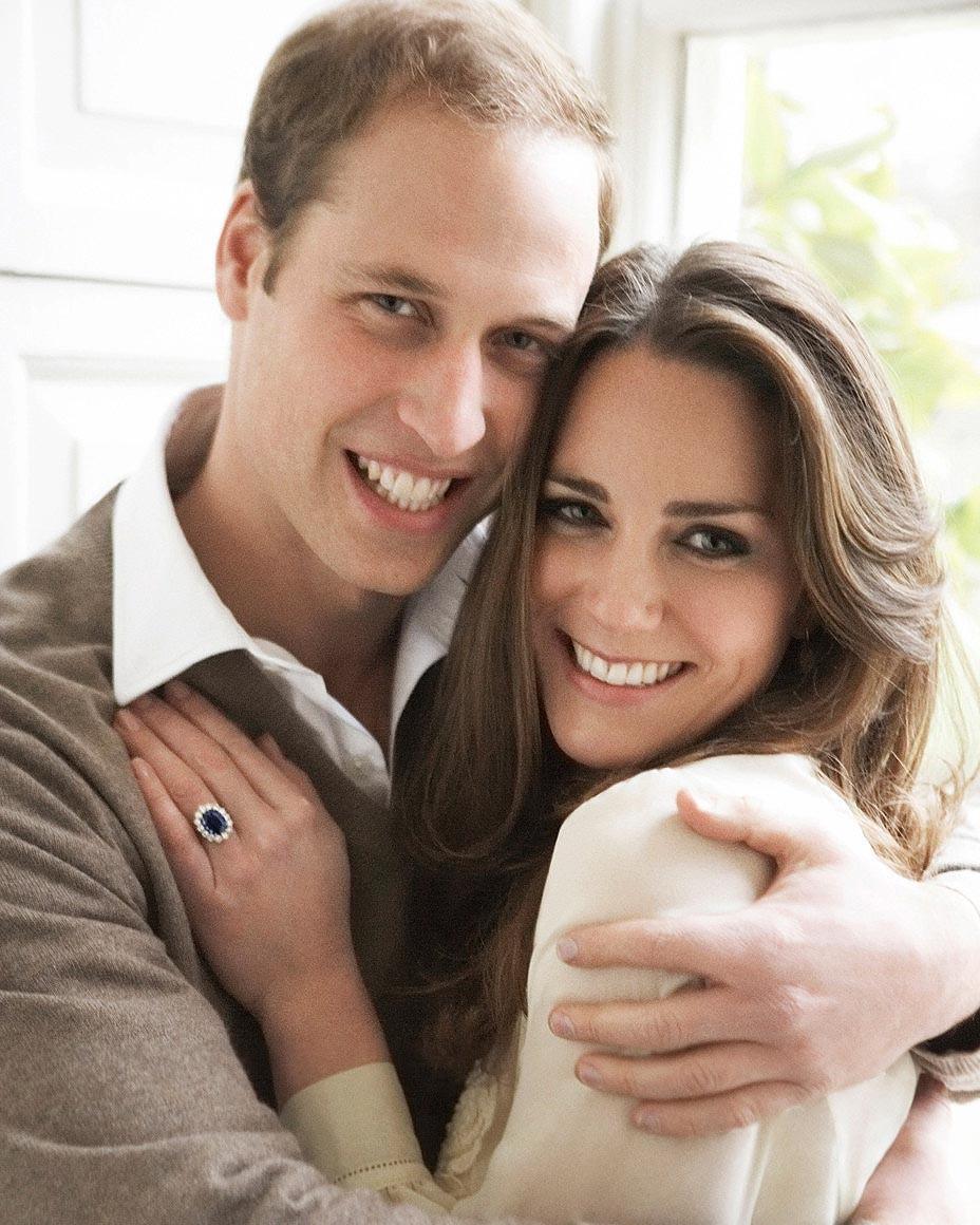 prince william duchess kate engagement photo
