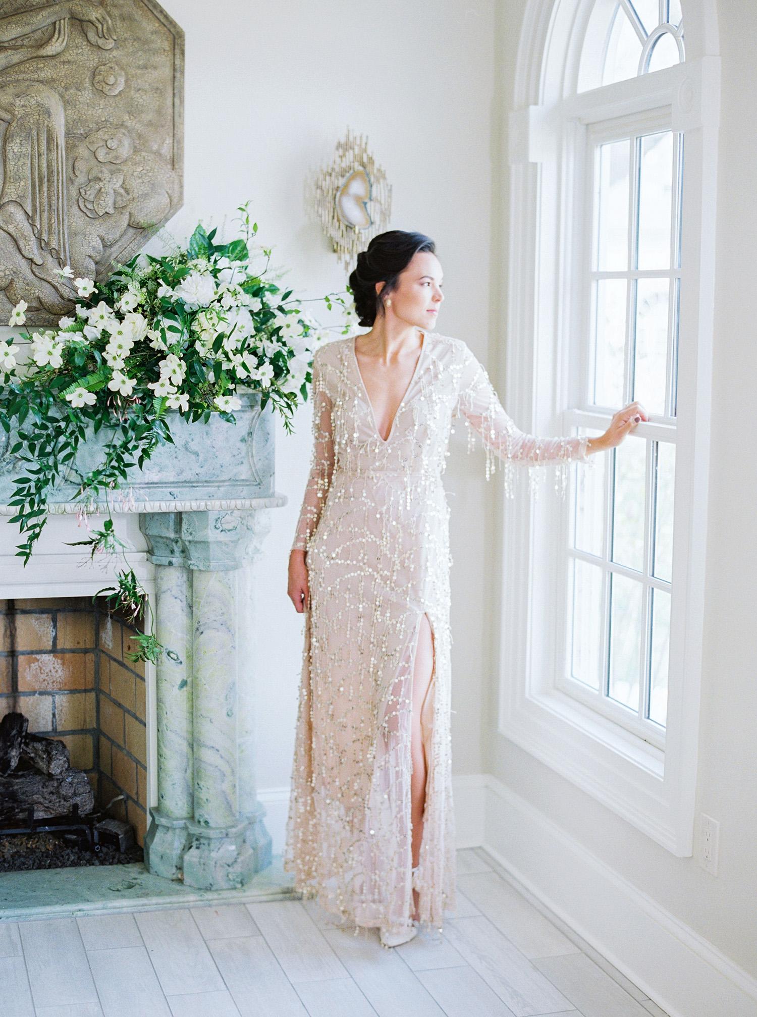 evan dustin vow renewal bride dress
