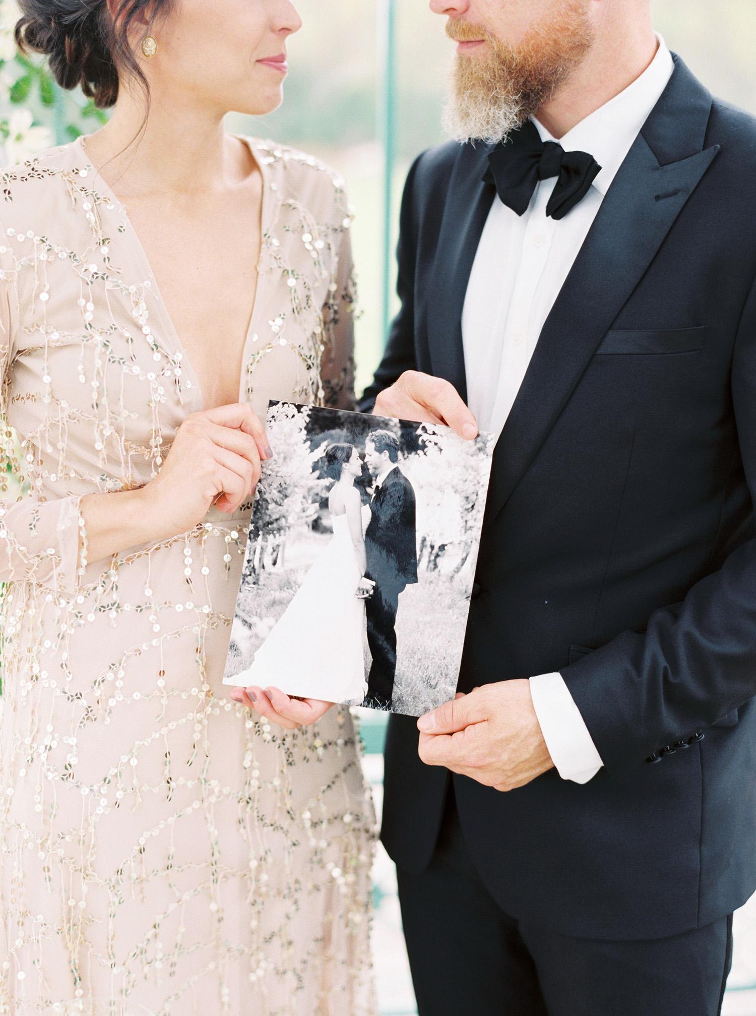 evan dustin vow renewal couple wedding photo