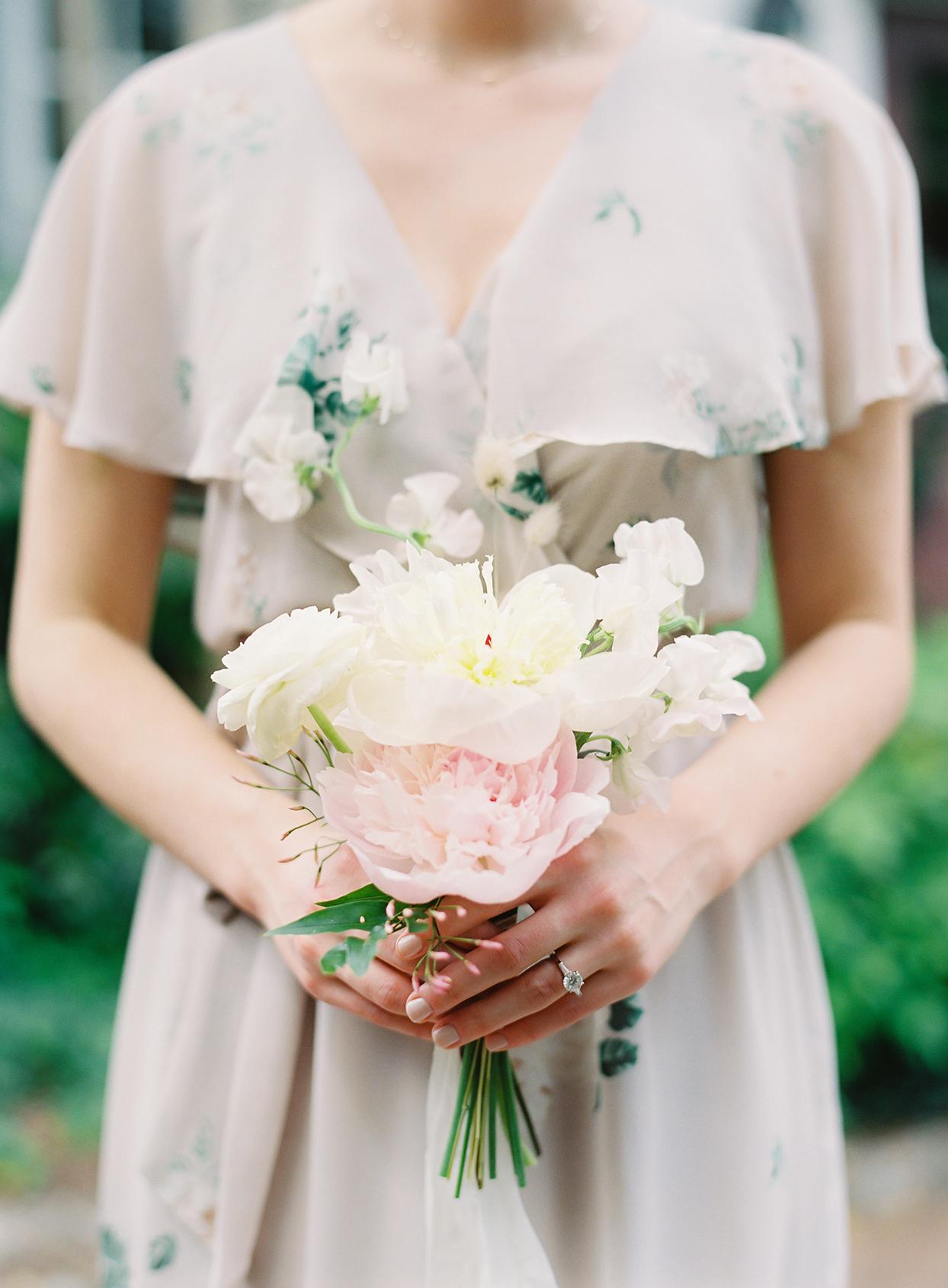 paula terence wedding bridesmaid bouquet
