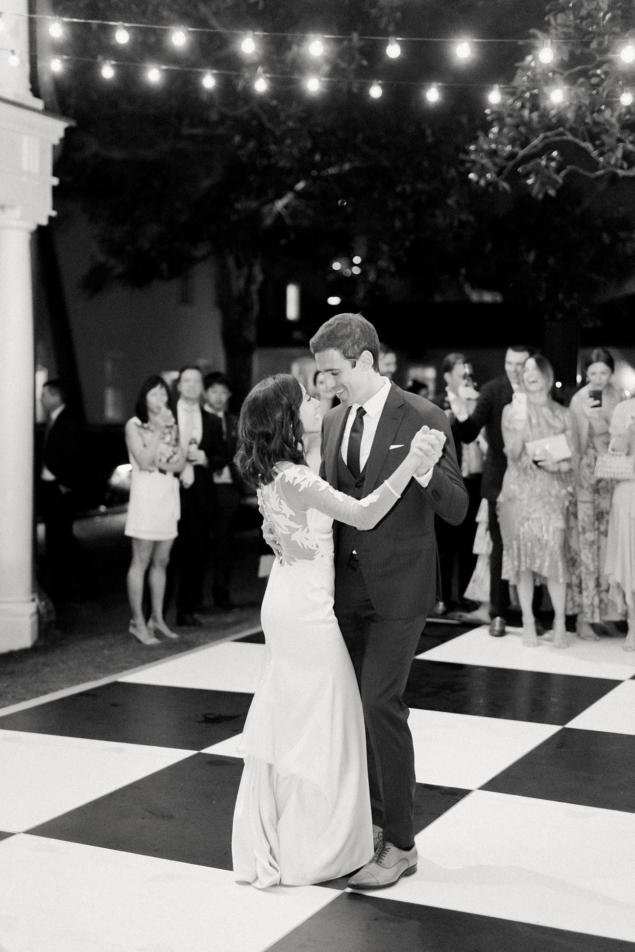 paula terence wedding couple first dance