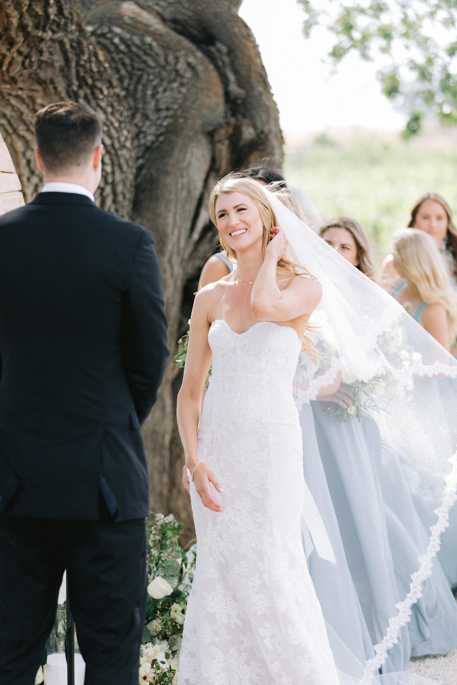 kati erik wedding bride groom alter ceremony