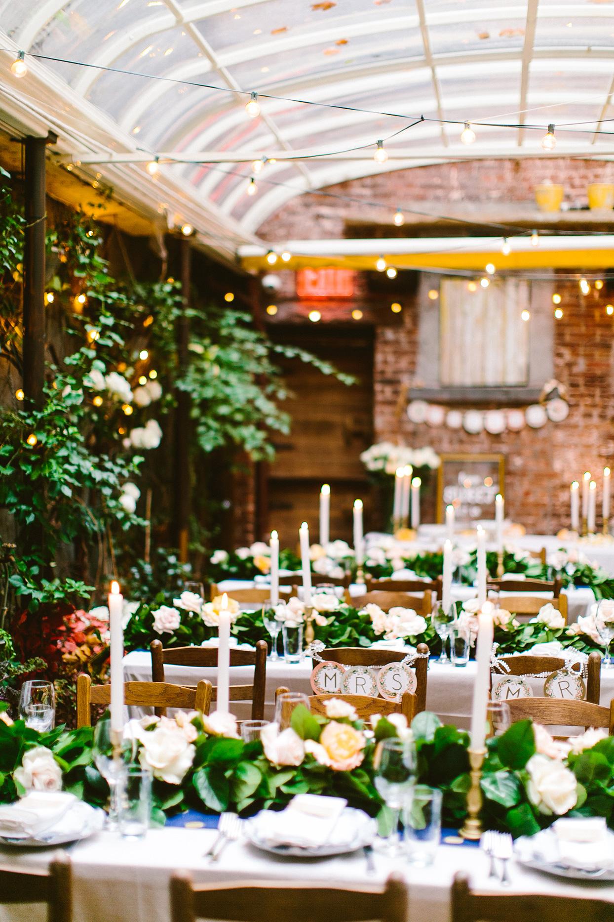 atrium location for rustic wedding reception