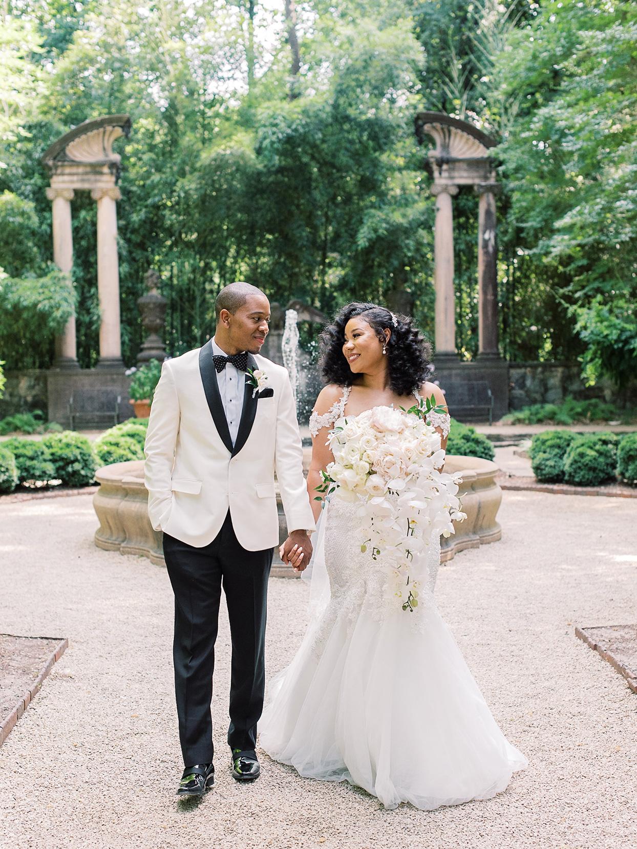 This Wedding in Atlanta—a Summertime Garden Soirée—Exemplified Southern Elegance