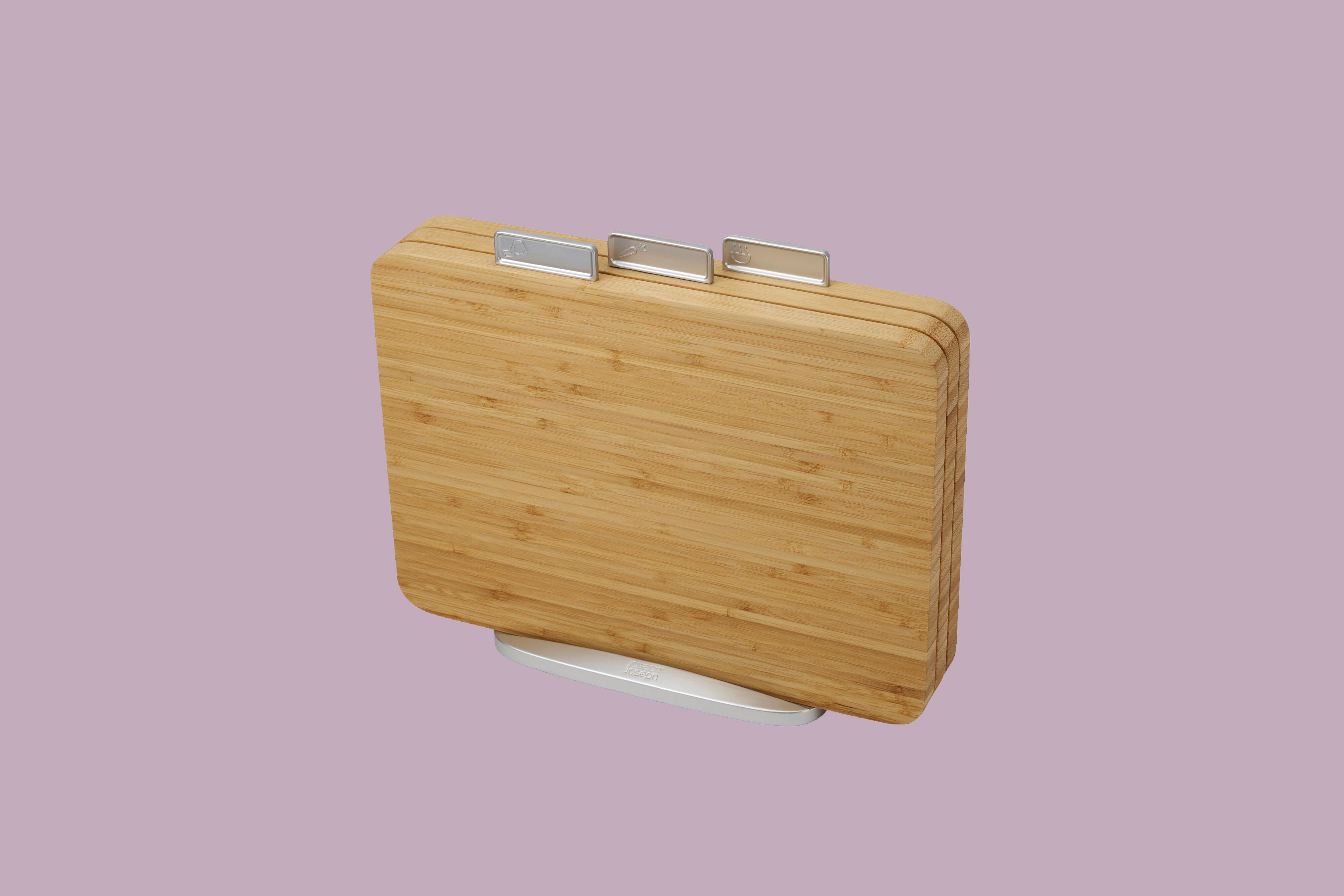 Joseph Index 4 Piece Bamboo Cutting Board Set