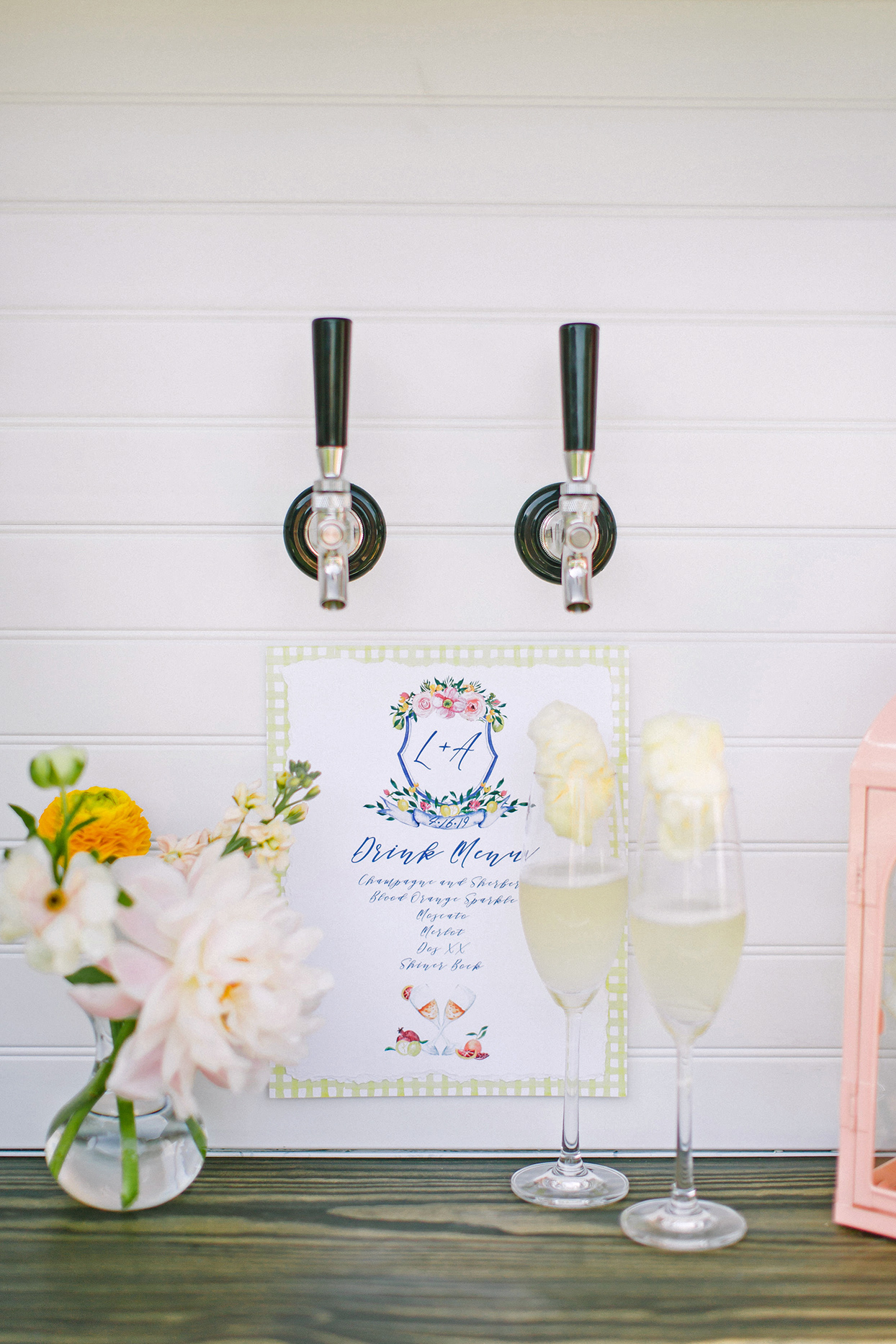champagne wedding ideas champagne on tap