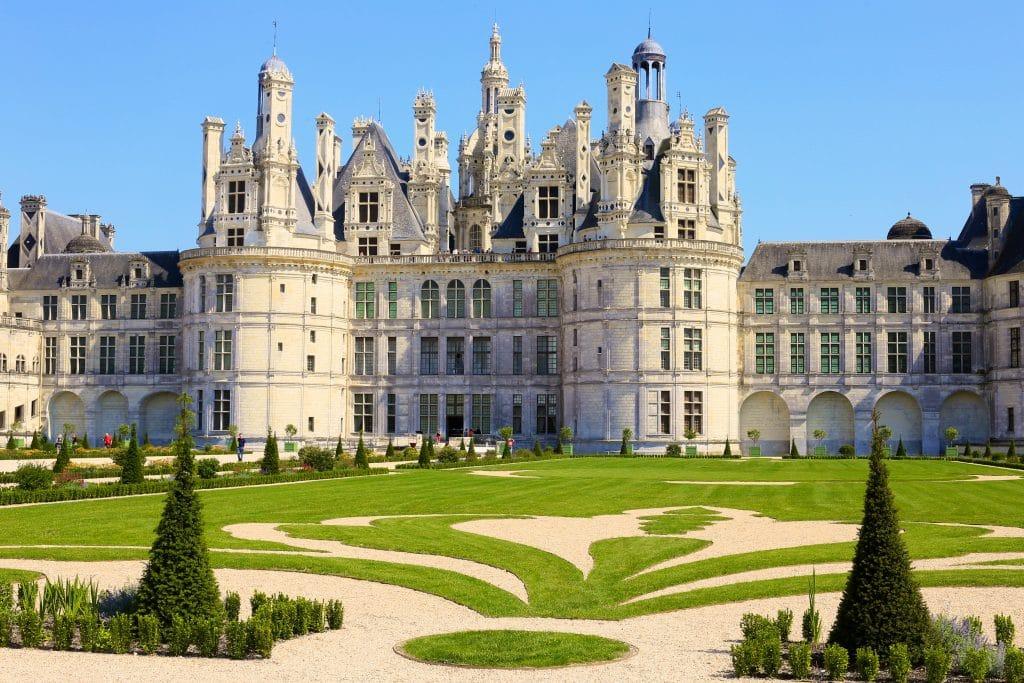 Château de Chambord in Loire Valley