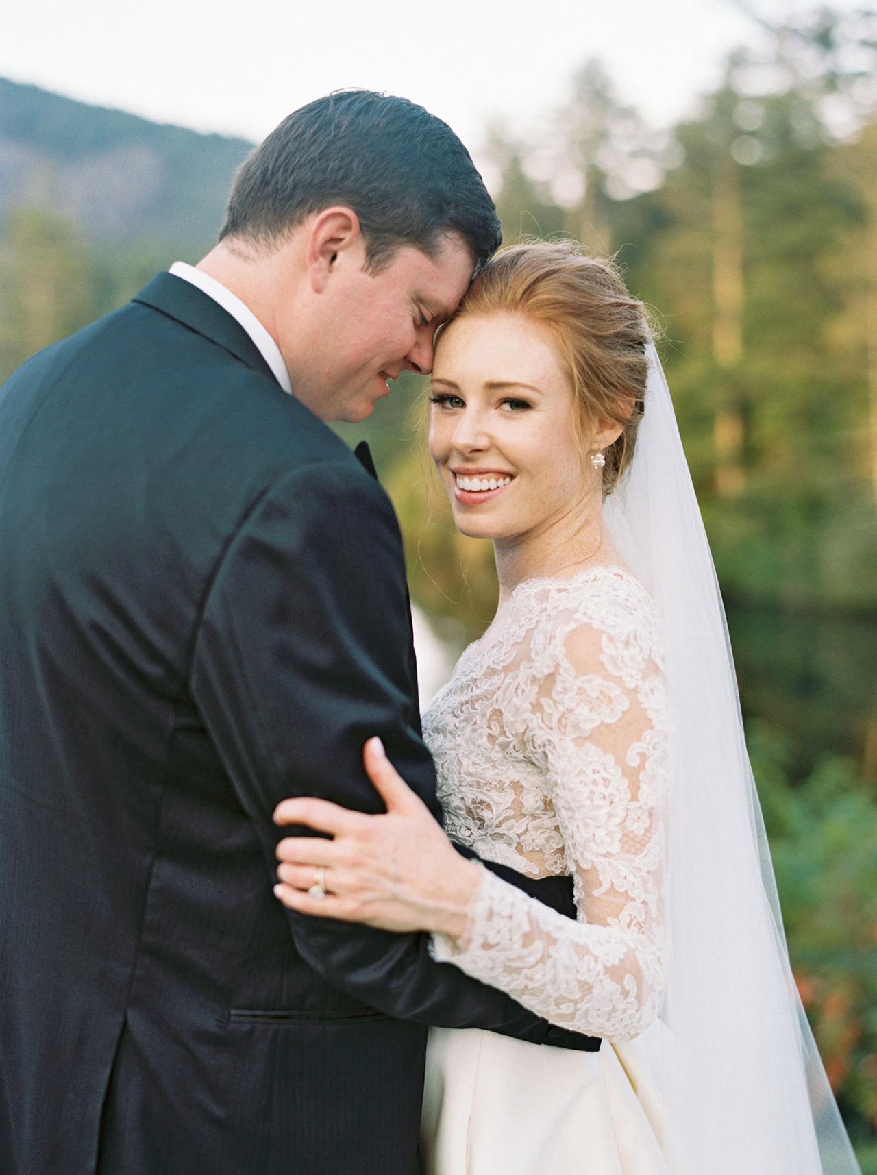 kathleen henry wedding couple