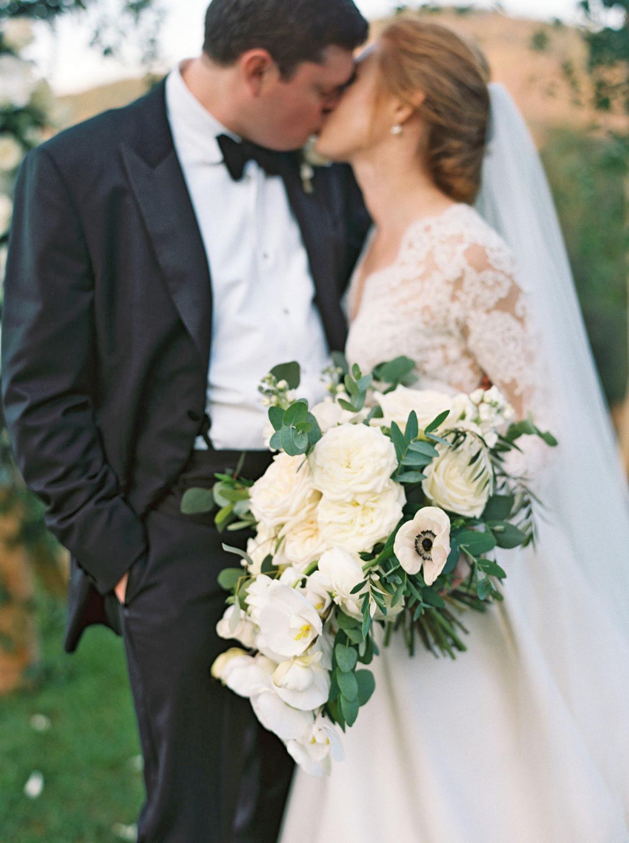 kathleen henry wedding kiss