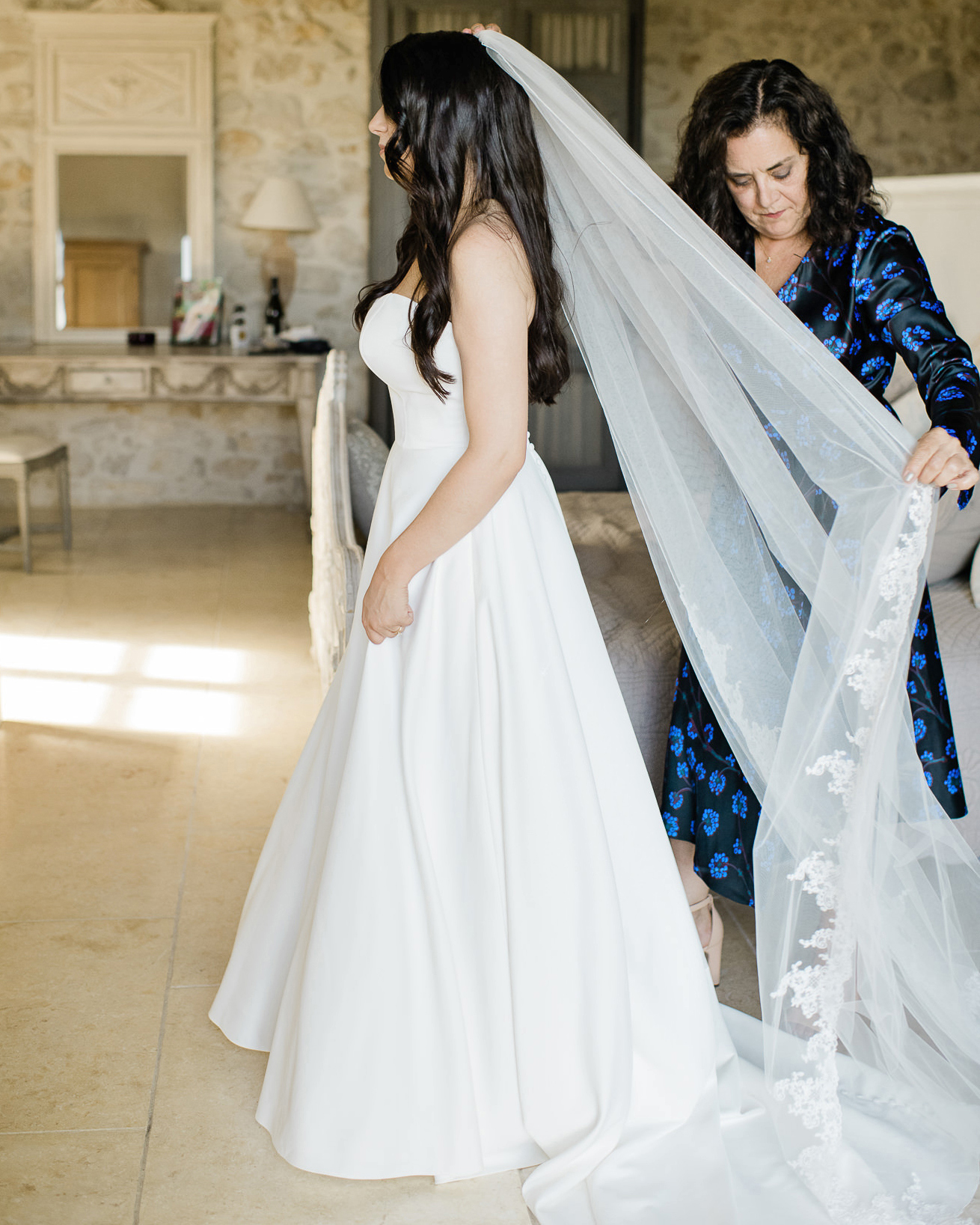 samantha grayson wedding mother and bride