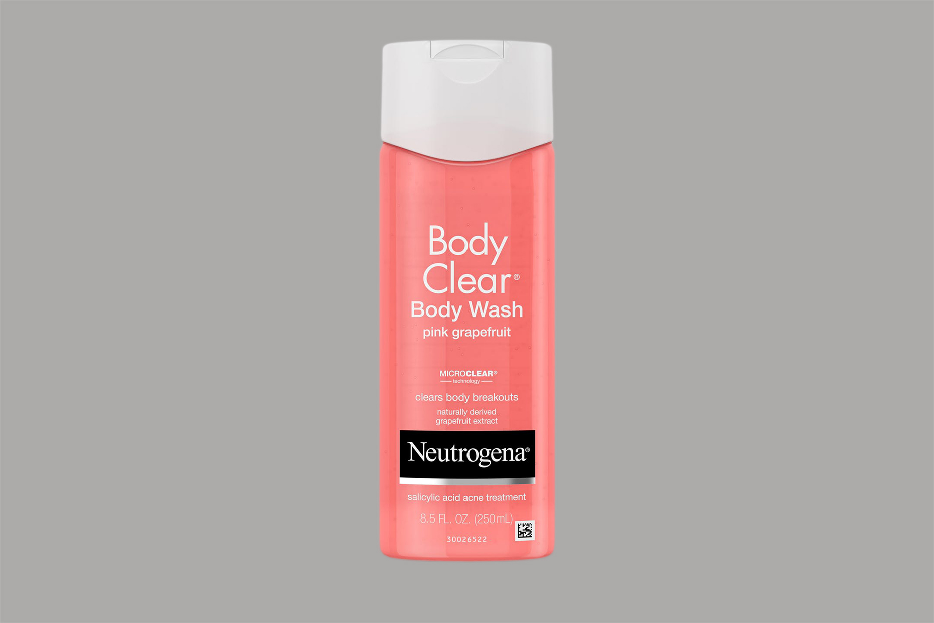 Neutrogena Body Clear Pink Grapefruit Salicylic Acid Acne Treatment Body Wash