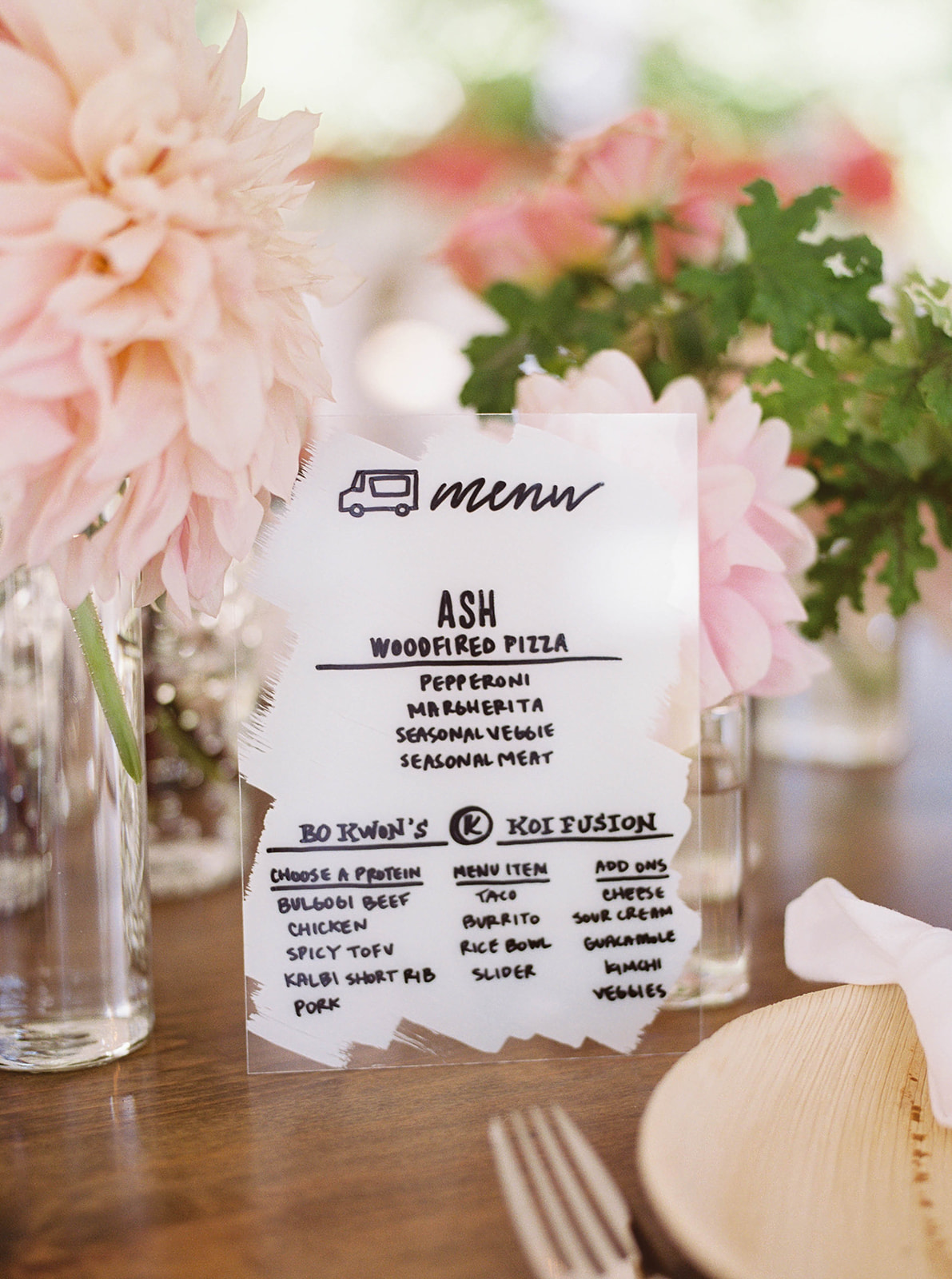 Unique Menu Cards