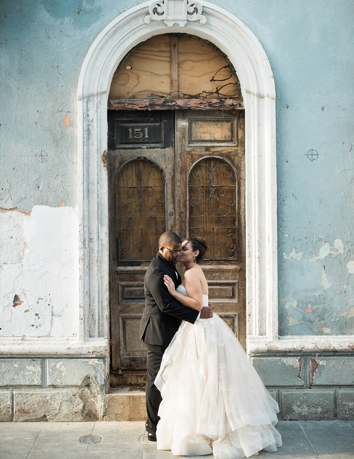 This Travel Inspired Wedding In San Juan Colorfully Melded Puerto