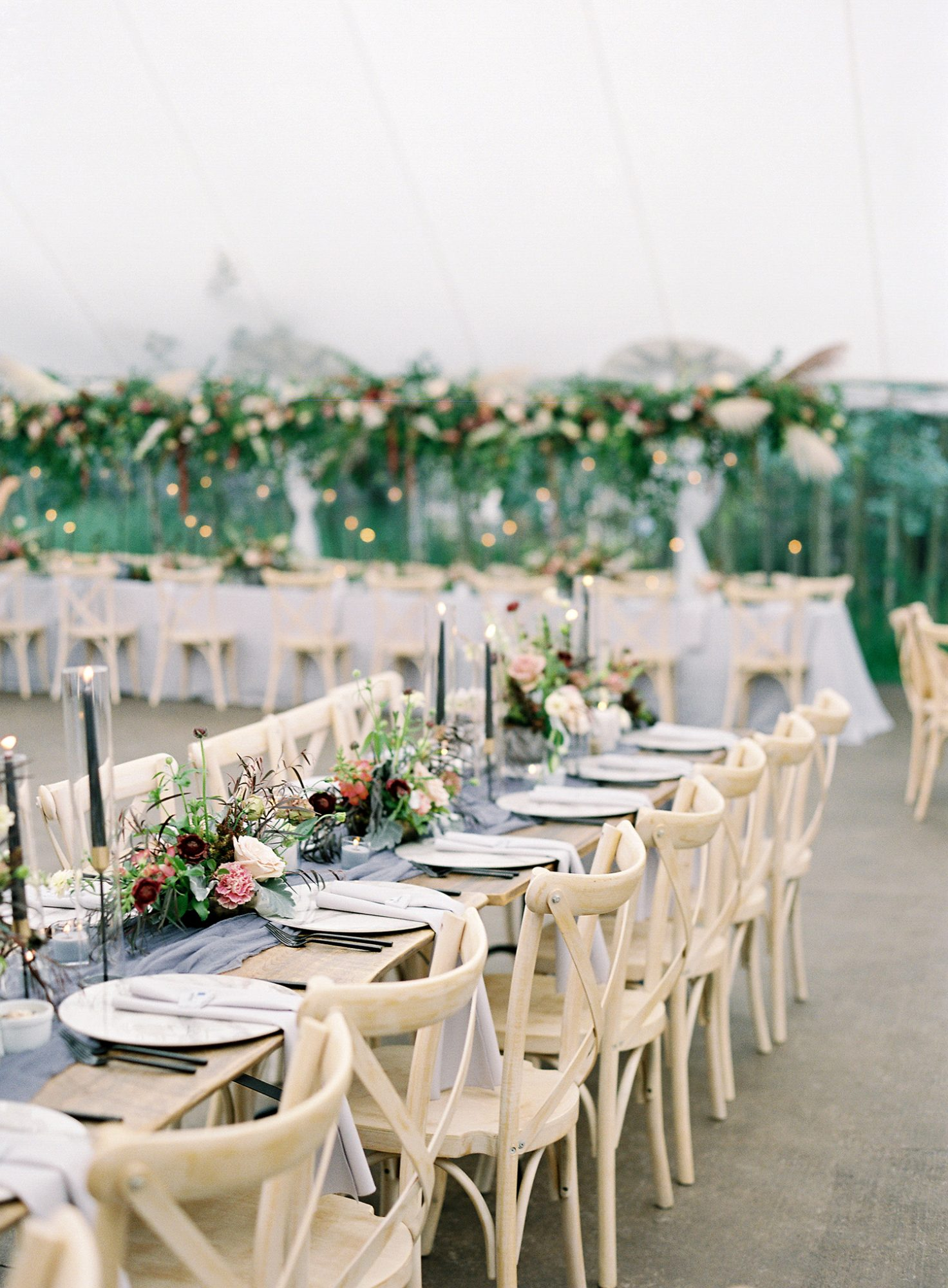Casey Andrew Wedding Reception Tables