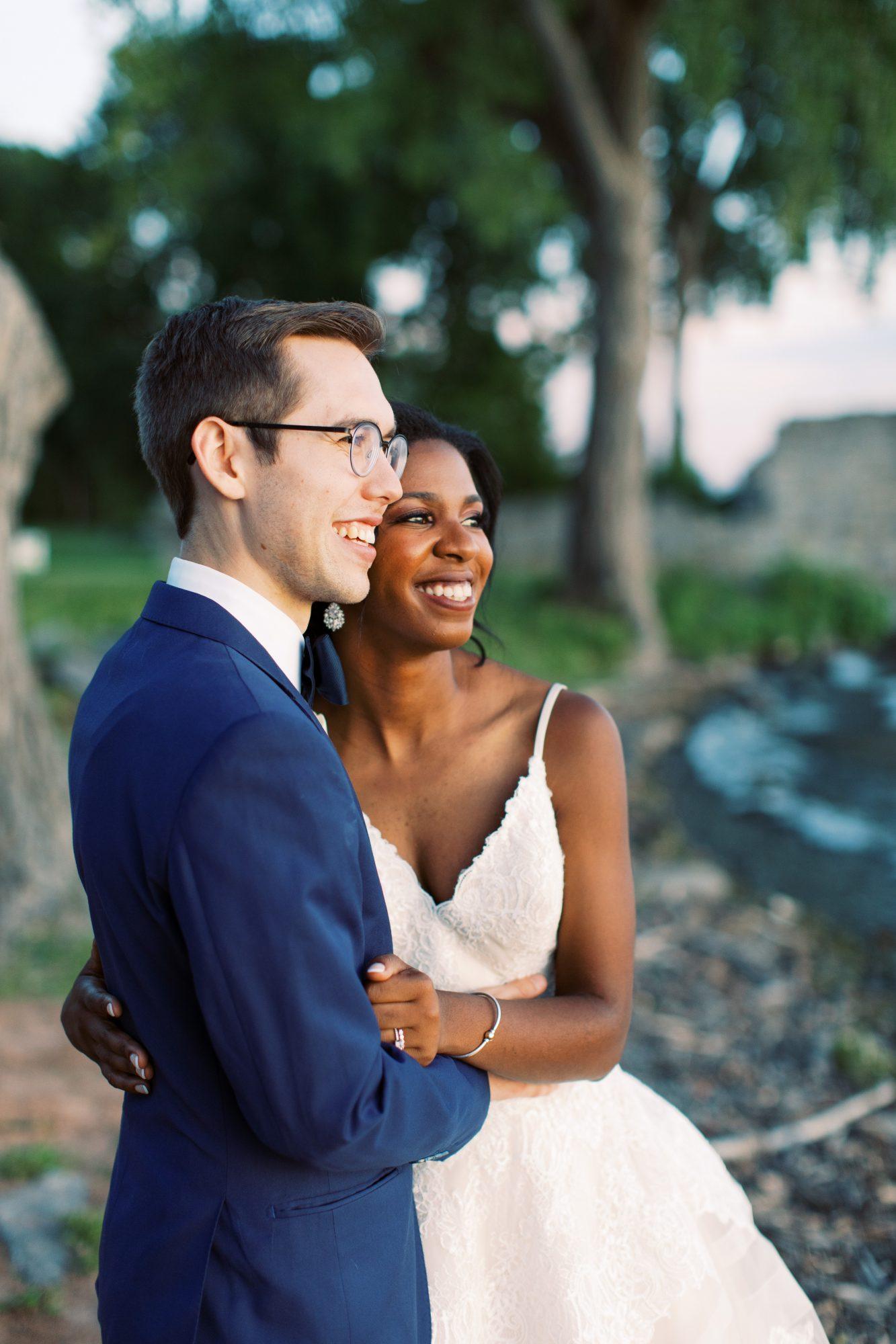 charlene jeremy wedding couple intimate portrait