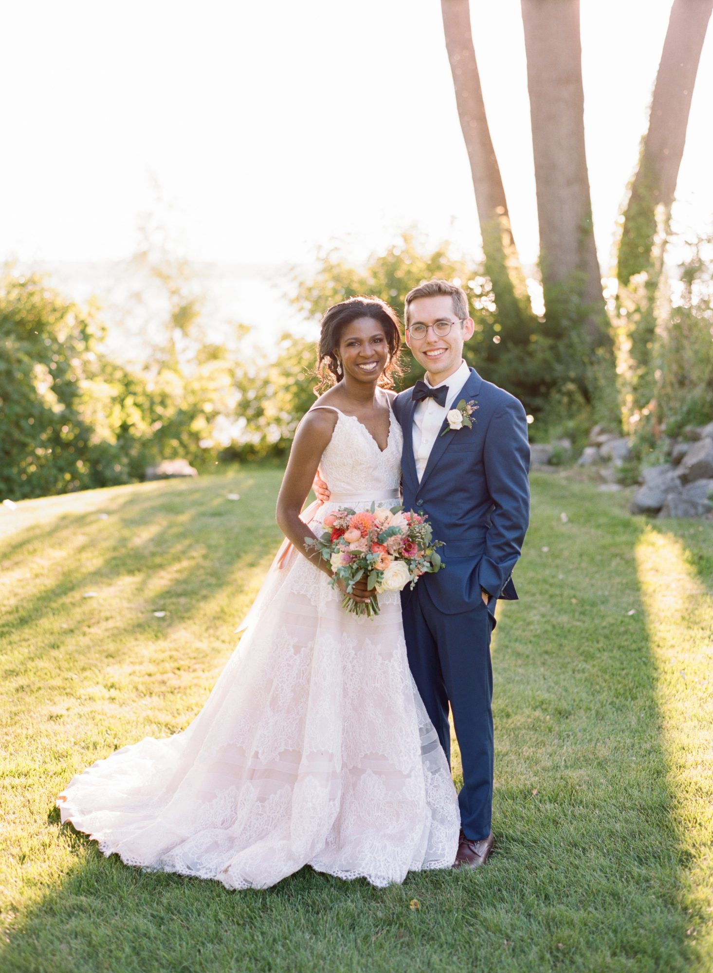 An Energetic Waterfront Wedding Set Against Upstate New York S