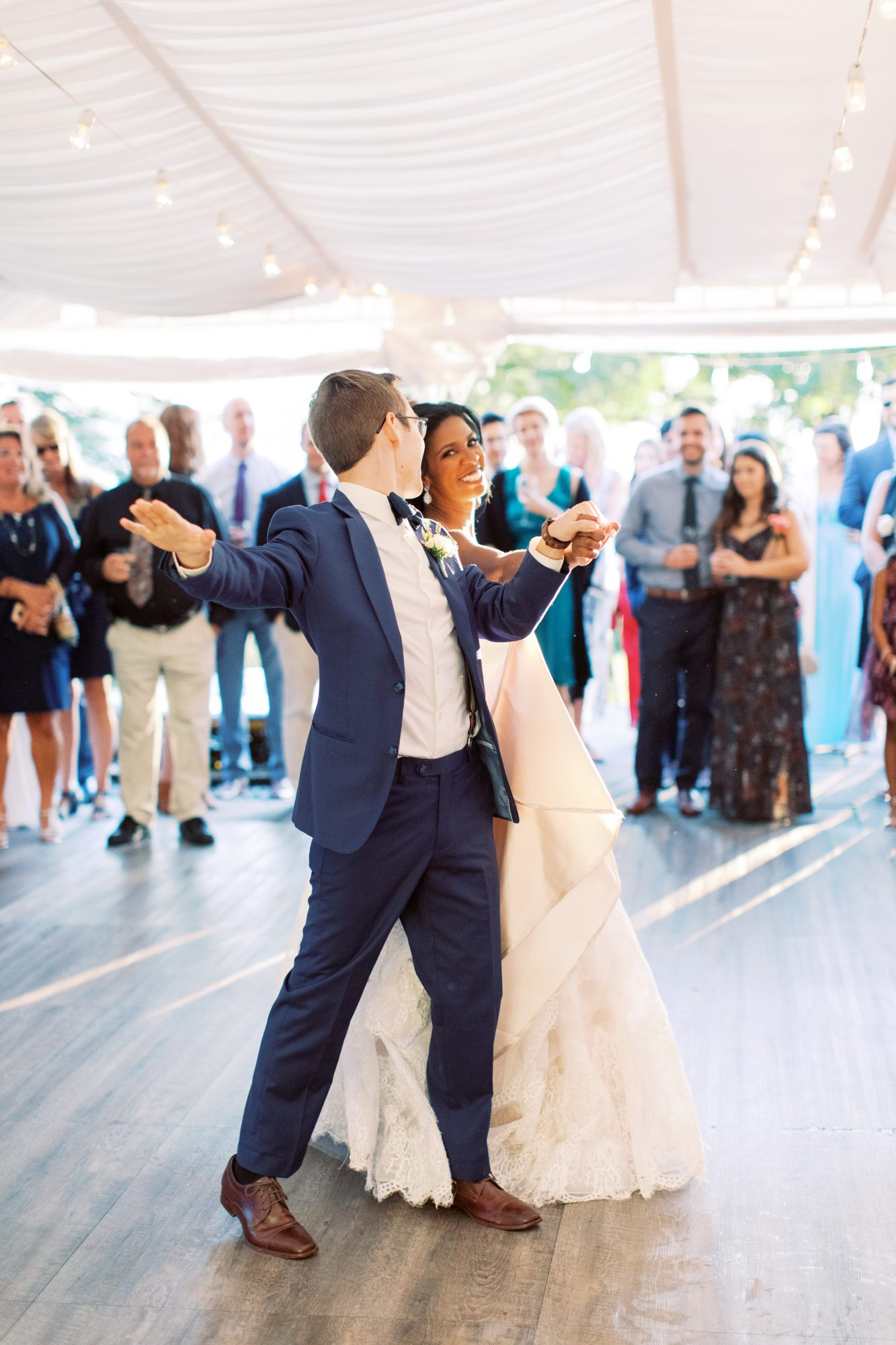 charlene jeremy wedding couple first dance