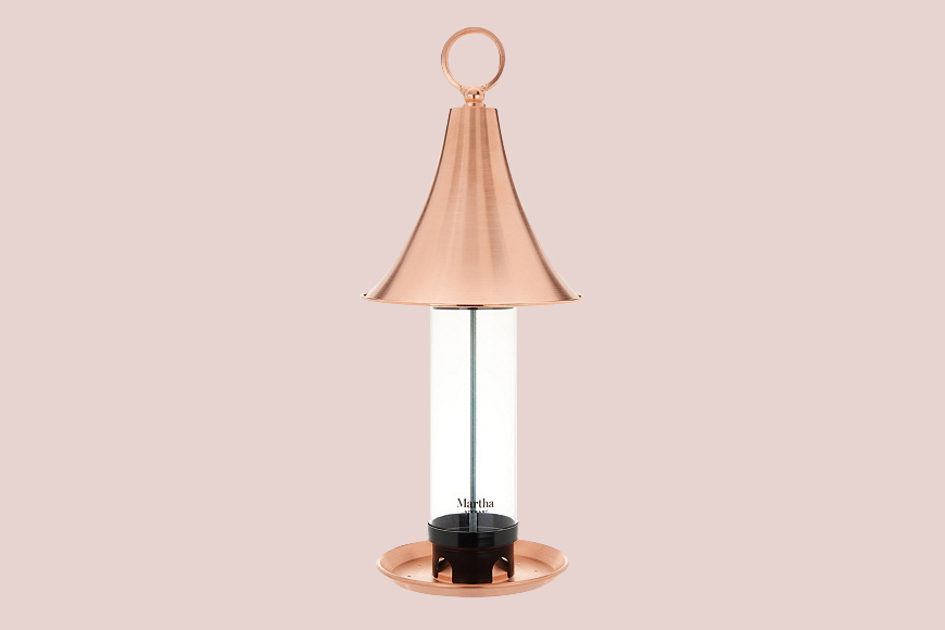 For Your Dad: Copper Bird Feeder