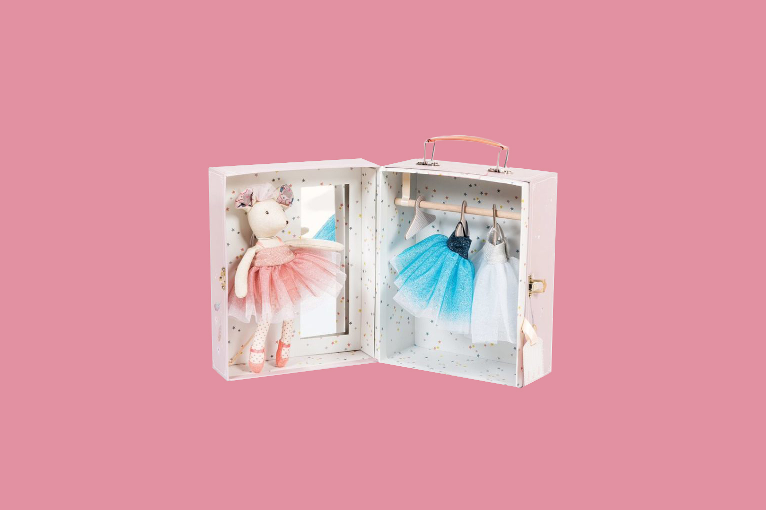 ballerina mouse doll set