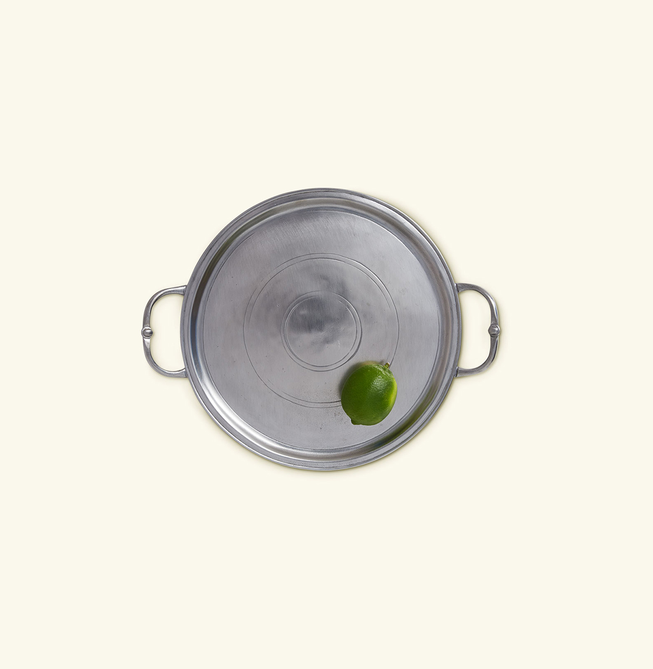 Match Pewter Small Round Tray