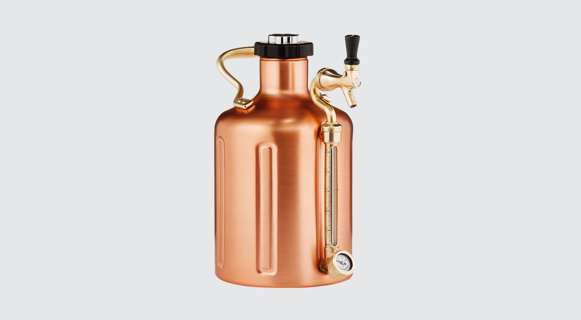 Growler Werks Copper UKeg