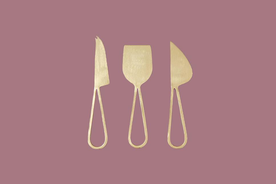 Terrain Loop Handle Cheese Knife Set