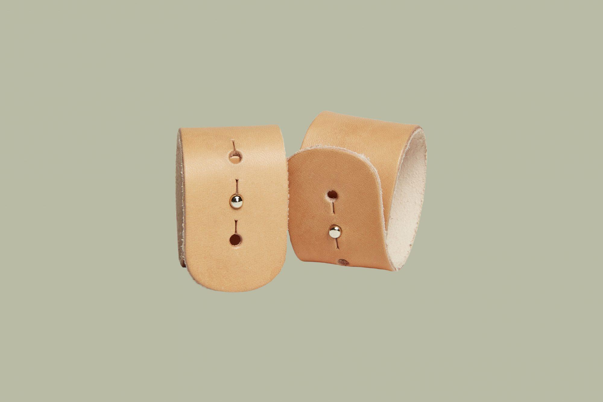 Parachute Leather Napkin Rings