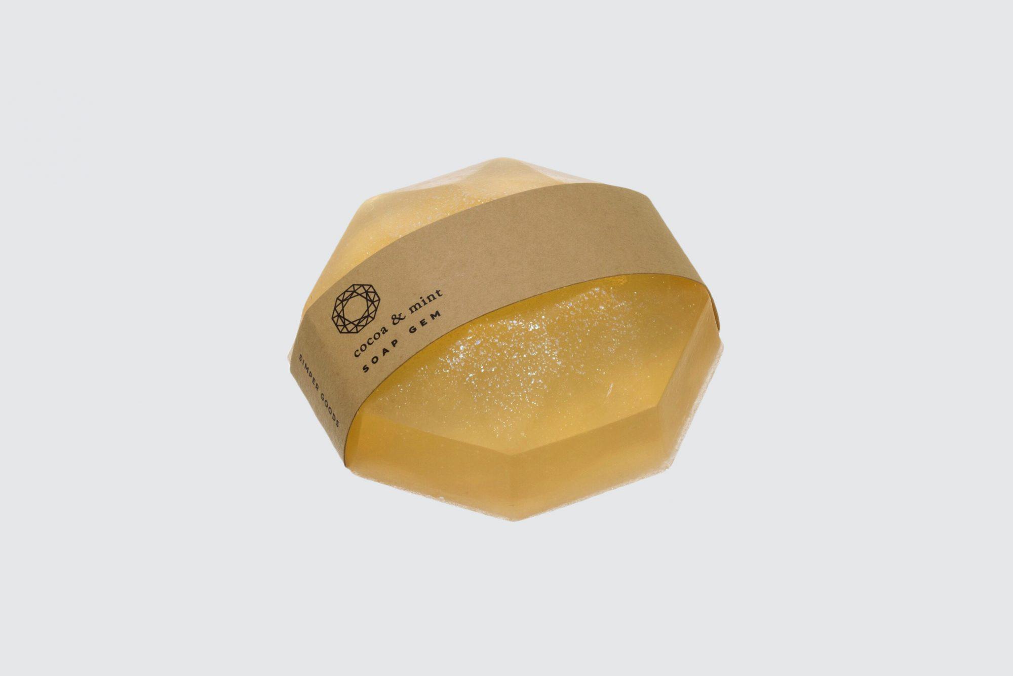Simper Goods Cocoa and Mint Soap Gem