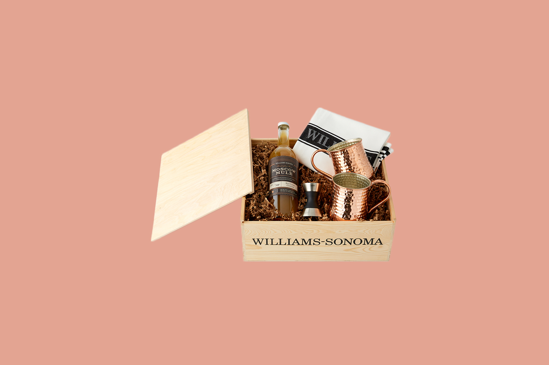 Williams Sonoma Moscow Mule Gift Crate