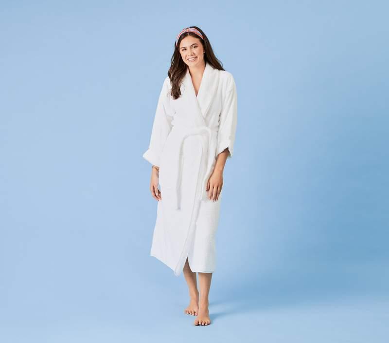 long white robe
