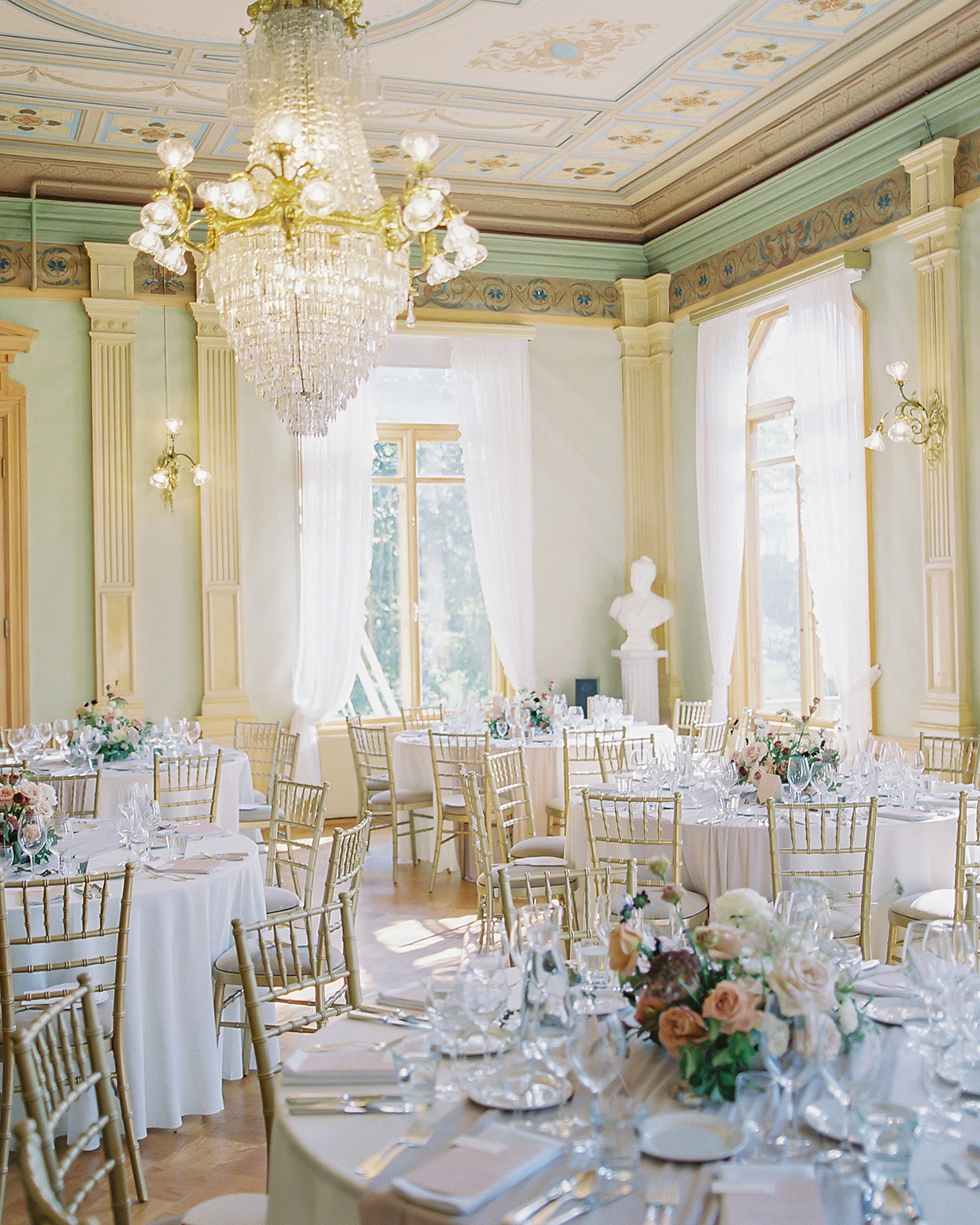 laura alexander wedding reception space