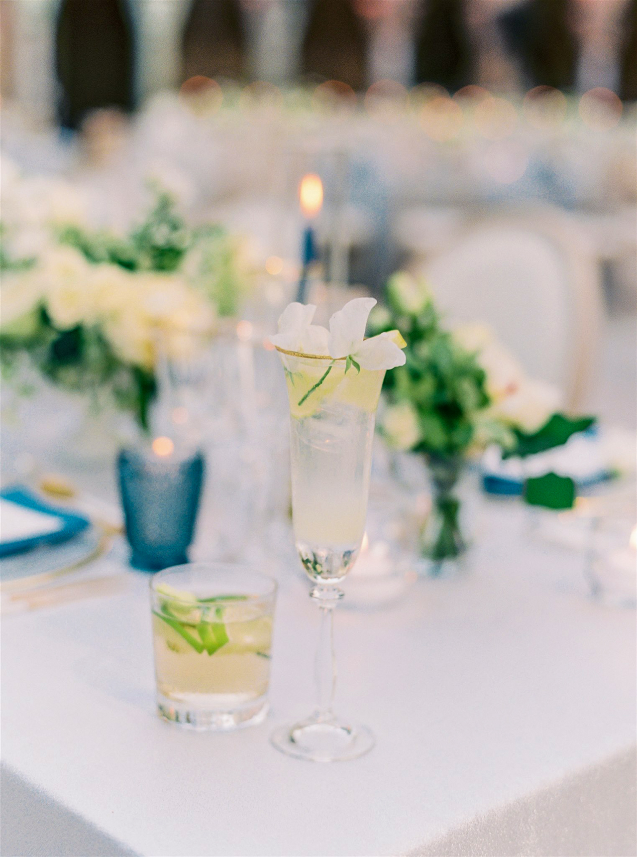 wedding cocktails french 75 vodka transfusion