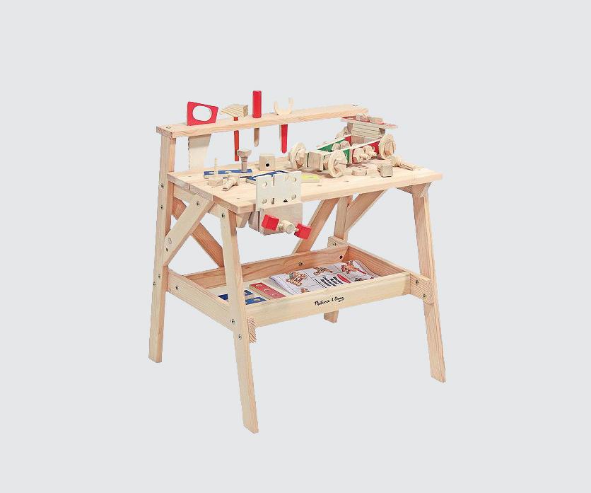 wooden work bench set