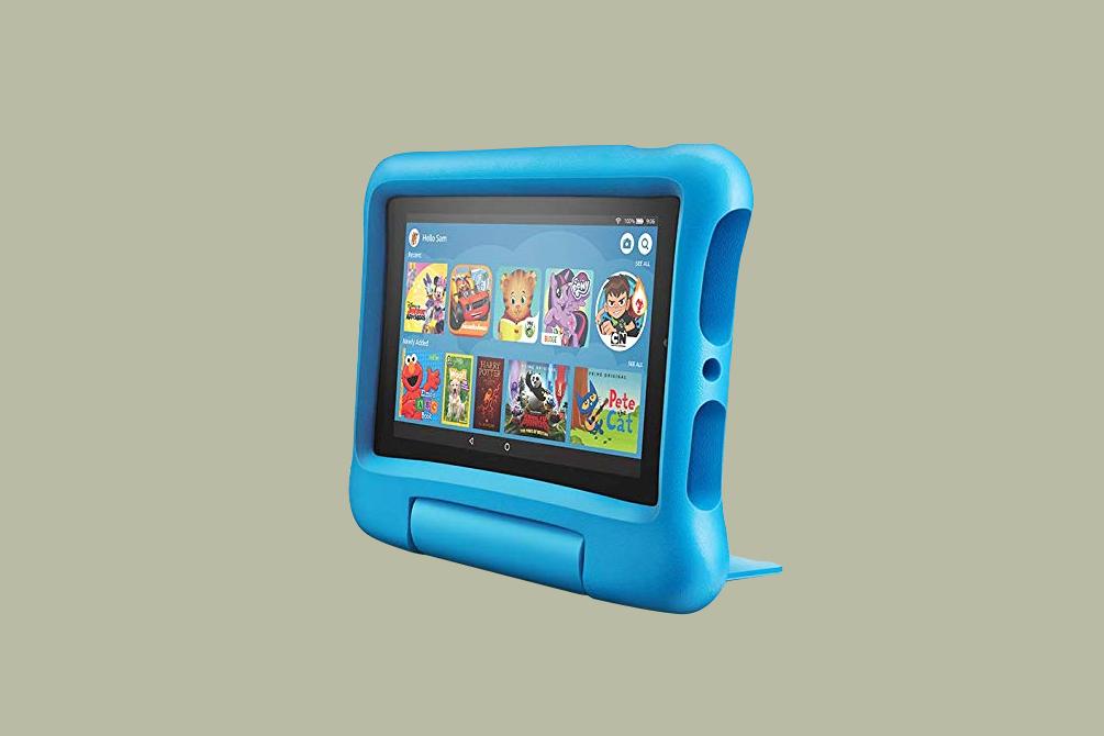 blue fire kids tablet