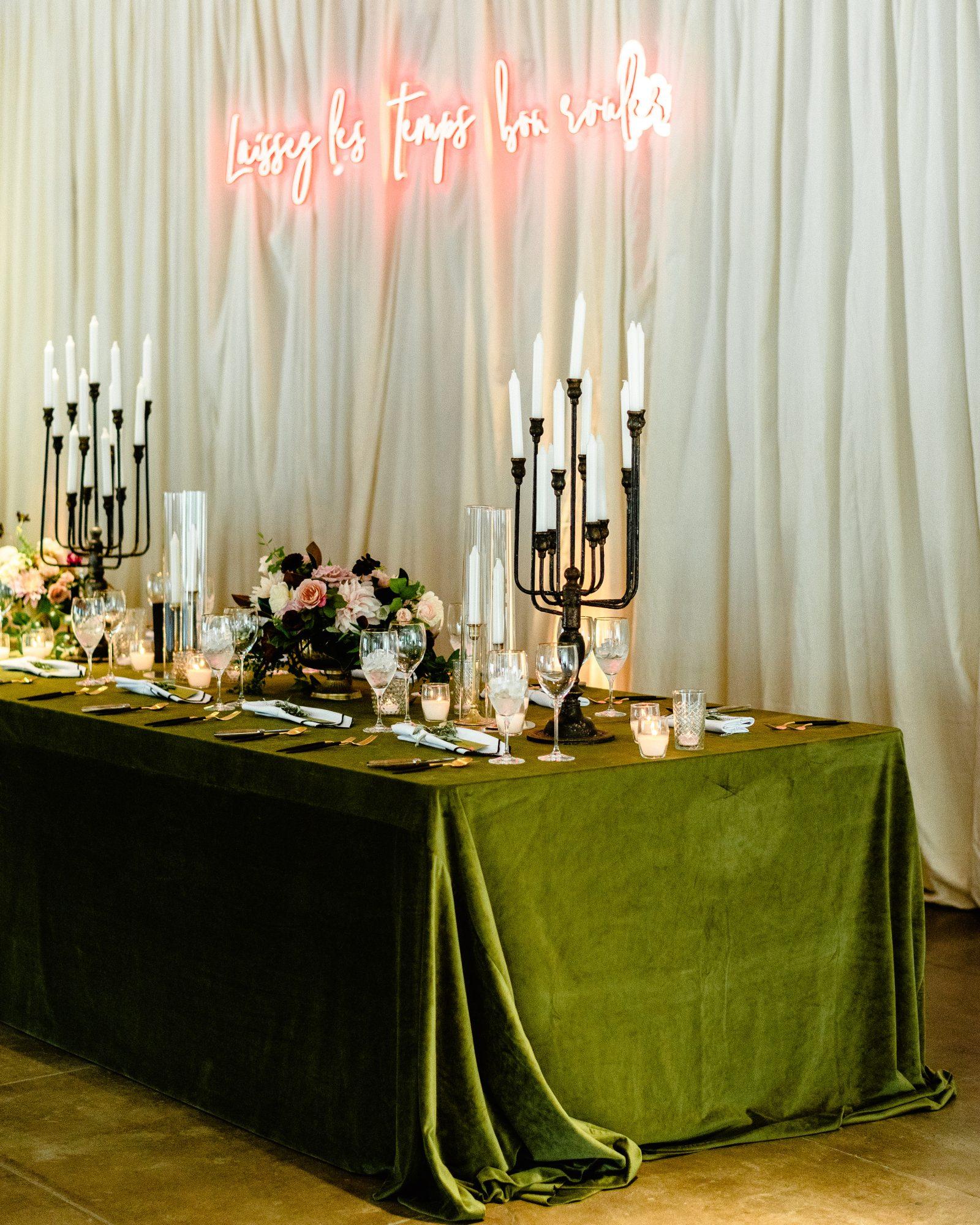 ryan shep wedding party reception table