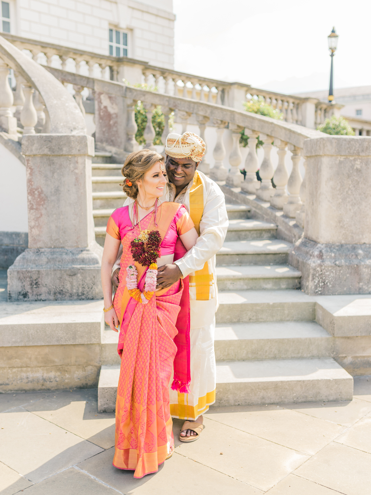 A Traditional Hindu Wedding at a Former Royal Residence in London