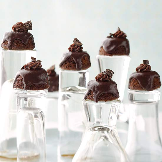 Chocolate-Rum Petits Four