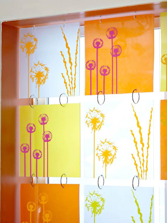 bright glass window treatment