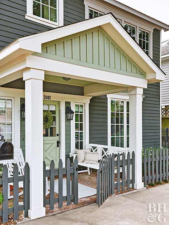 Exterior Color Combinations Done Right Better Homes Gardens