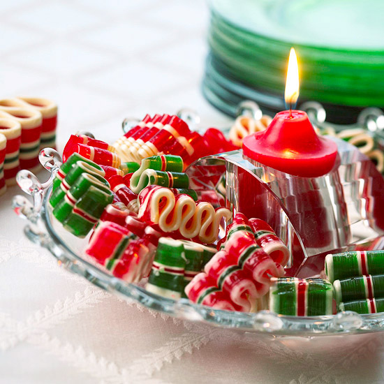 Clever Christmas Candy Decorations Better Homes Gardens