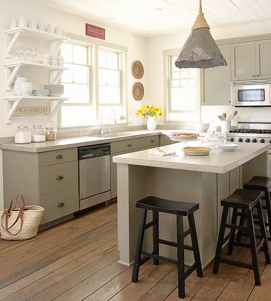 Get the Cottage Look: Wood Flooring
