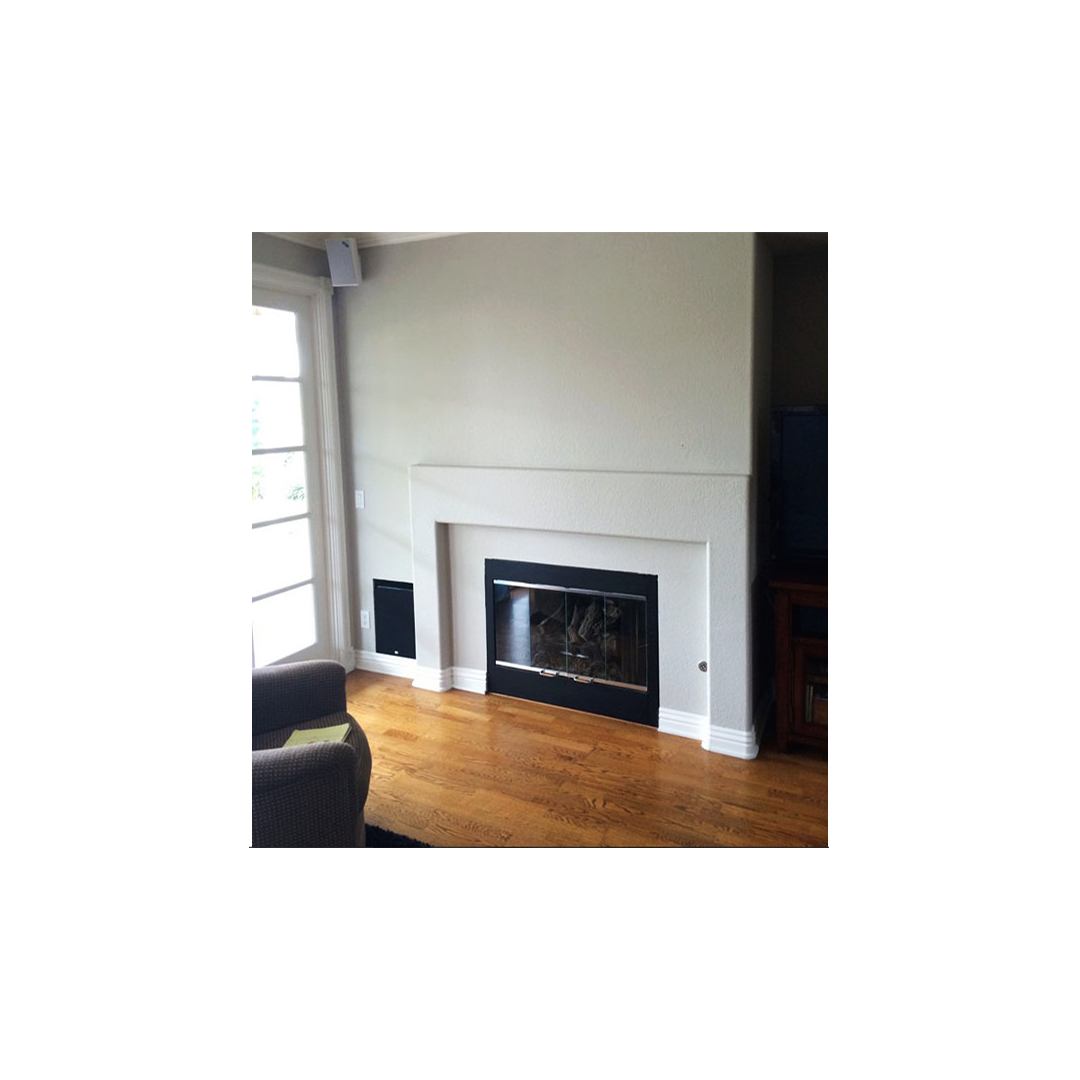 Before And After Fireplace Makeovers That Go From Cold To Cozy