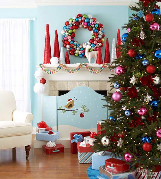 Bright and Cheery Christmas Tree Decorations