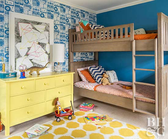Pleasing Make The Most Of Shared Kids Rooms With These Smart Ideas Ocoug Best Dining Table And Chair Ideas Images Ocougorg