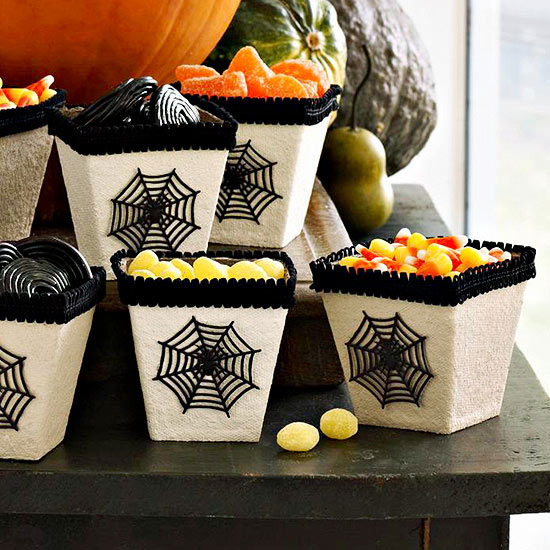 Spider Web Treat Boxes
