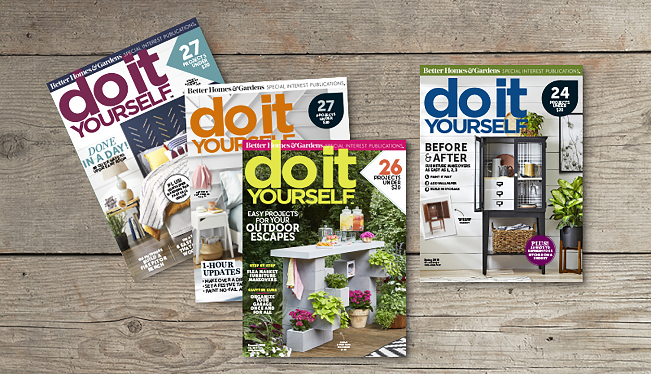 Do It Yourself magazines