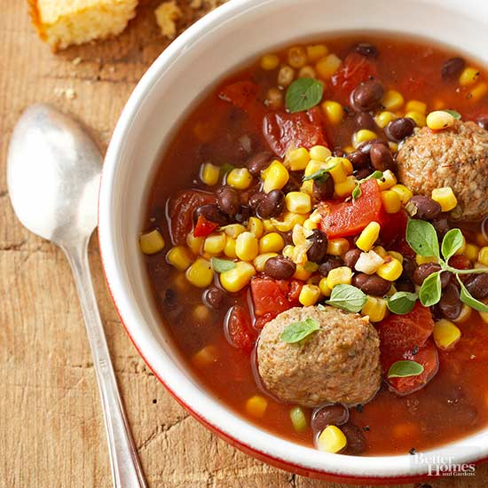 Mexican Meatball Stew