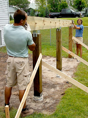 How To Install Deck Beams Better Homes Gardens