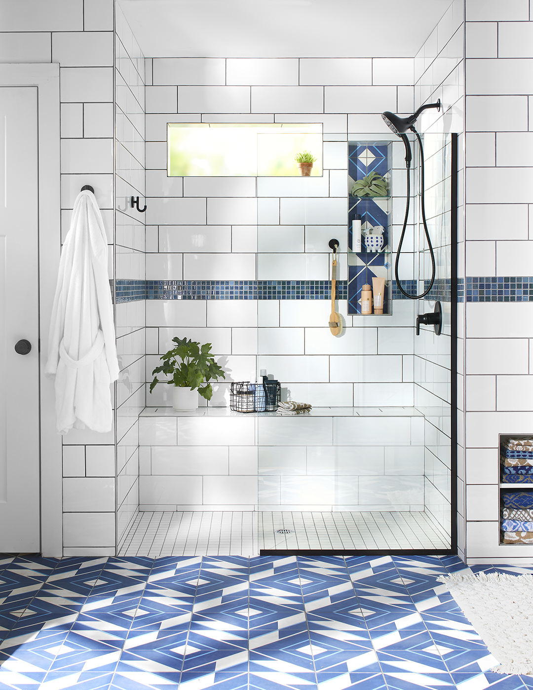 31 Breathtaking Walk In Shower Ideas Better Homes Gardens