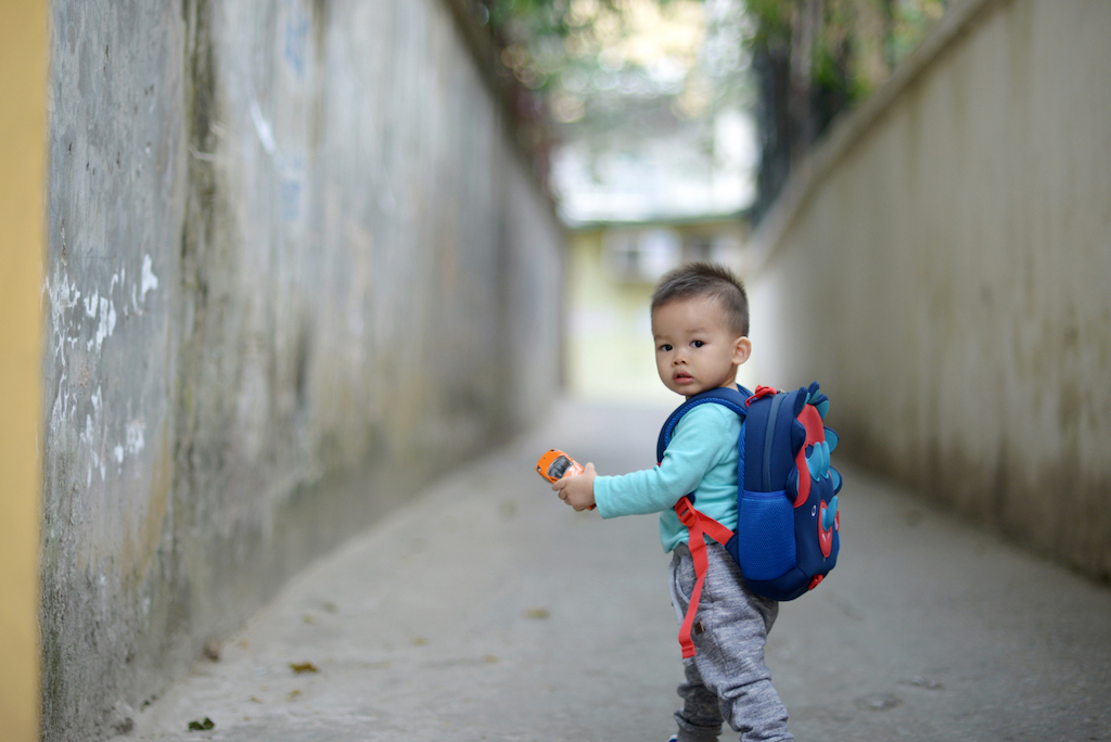 young boy from vietnam